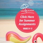 Summer Assignment