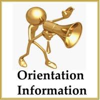Orientation Information