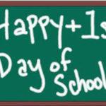 Happy 1st day of school