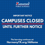 CAMPUSES CLOSED UNTIL FURTHER NOTICE