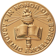 An image of a seal for Academic Excellence