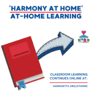 Harmony at Home Distance Learning