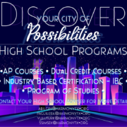 An image of the high school programs flyer