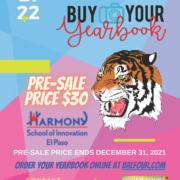 An image of the 2021 Yearbook flyer
