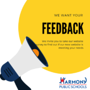 We want your Feedback. We invite you to take our website survey to find out if our new website is meeting your needs.
