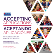 Harmony Public Schools is now accepting applications for Open Enrollment for the 2020-2021 school year.